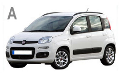 Rent a car Bennasar - Fiat Panda or similar
