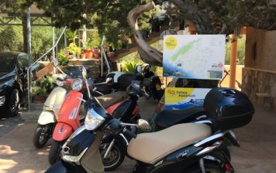 Rent a car Bennasar - Piaggio Libery 125cc